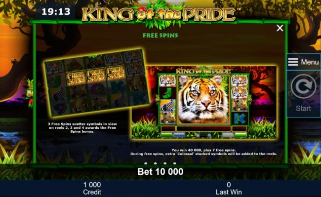 King of the Pride by Free Slots 247