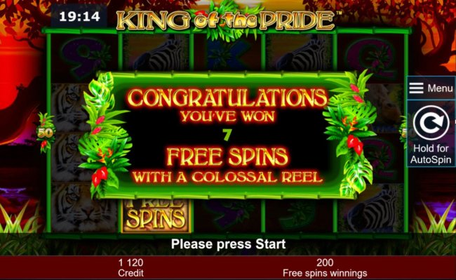 & free spins with a colossal reel by Free Slots 247