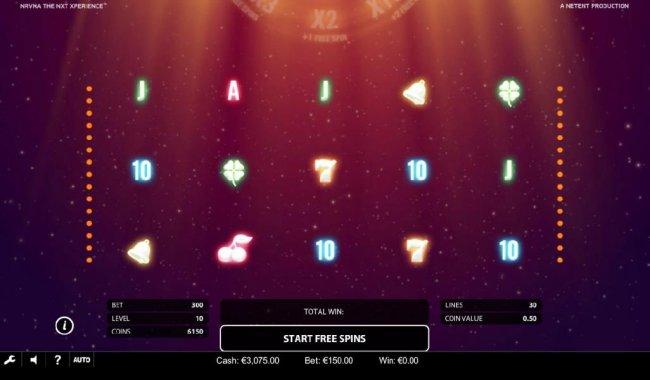 Bonus Free Spins Game Board by Free Slots 247