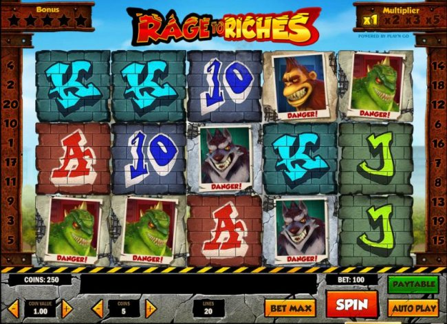 Free Slots 247 image of Rage to Riches