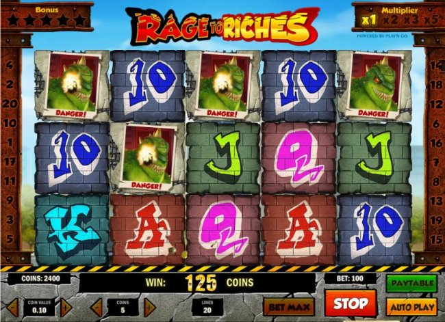 Rage to Riches by Free Slots 247