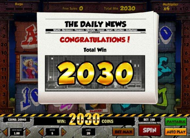 Rage to Riches screenshot
