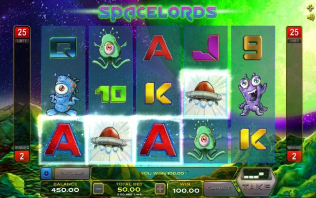 Space Lords by Free Slots 247