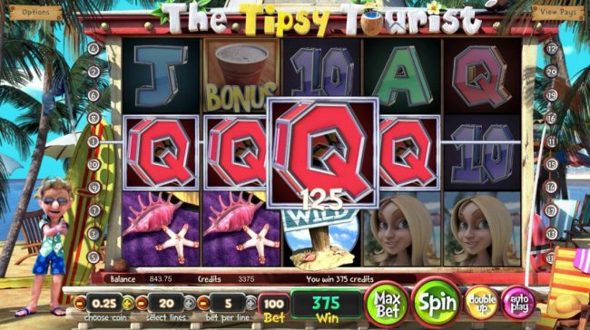 Multiple winning paylines triggers a big win! by Free Slots 247