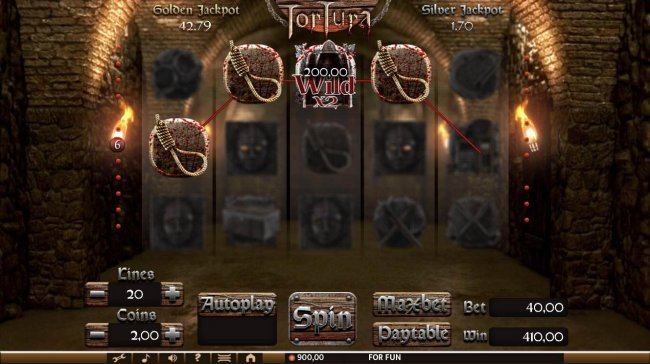 Free Slots 247 image of Tortura