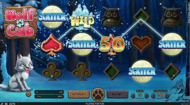 Wolf Cub by Free Slots 247