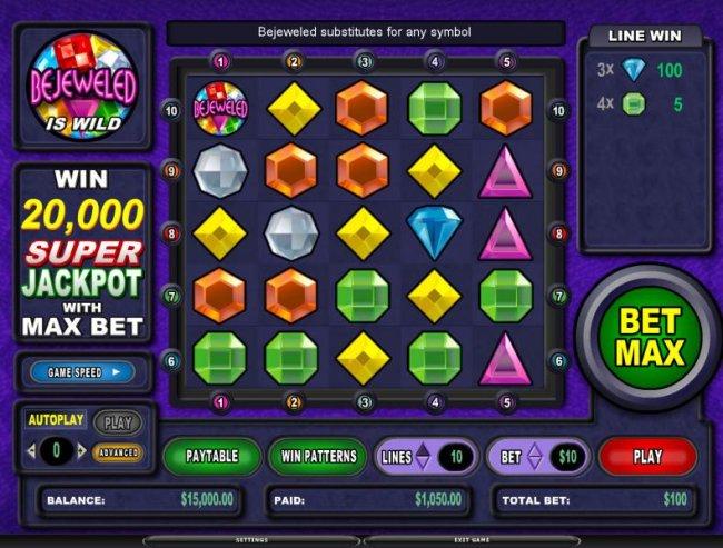 Bejeweled by Free Slots 247