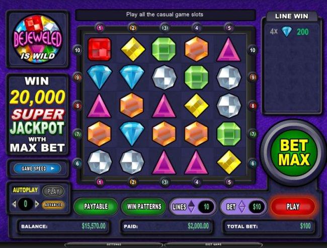 Free Slots 247 image of Bejeweled