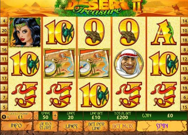 Desert Treasure II screenshot