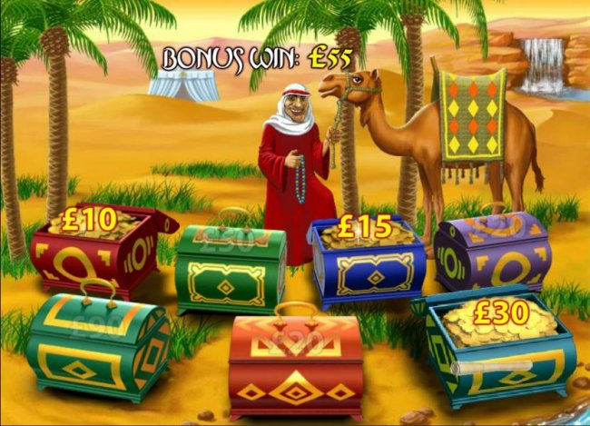 Free Slots 247 image of Desert Treasure II