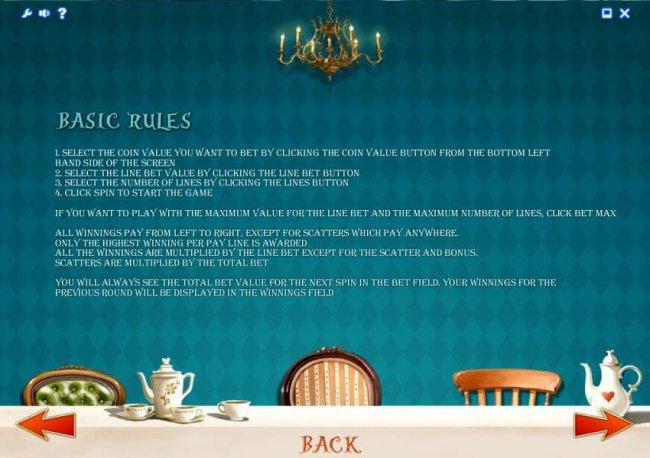 basic game rules - Free Slots 247