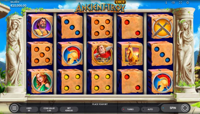 Ancient Troy Dice by Free Slots 247