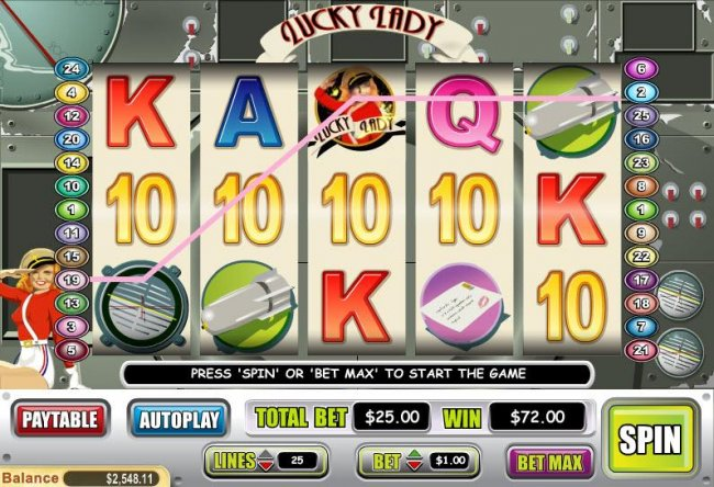 Free Slots 247 image of Lucky Lady
