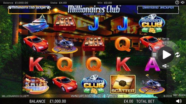 Millionaires Club Diamond Edition screenshot