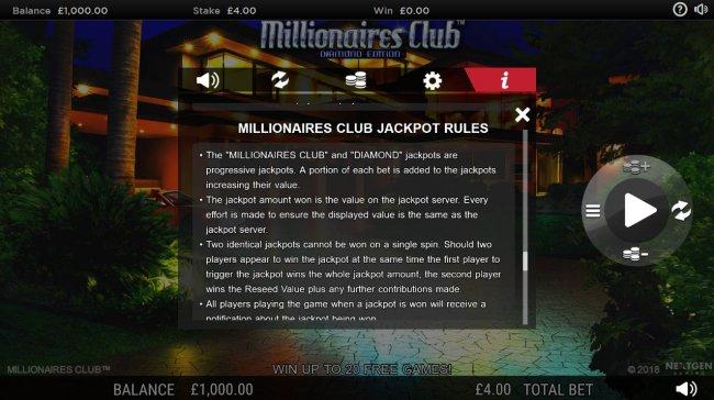 Millionaires Club Diamond Edition by Free Slots 247