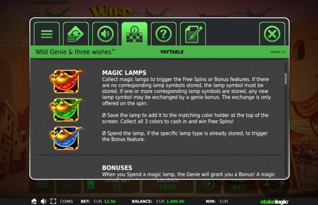 Wild Genie & the Three Wishes by Free Slots 247