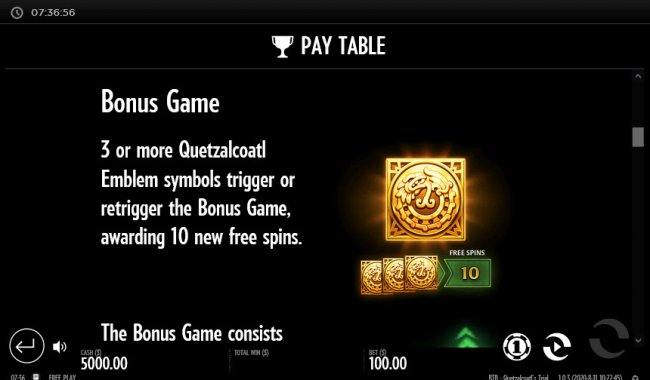 Beat the Beast Quetzalcoatl's Trial by Free Slots 247