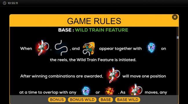 Wild Train Feature - Free Slots 247
