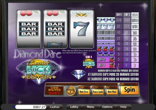 Free Slots 247 image of Diamond Dare Bucks Edition