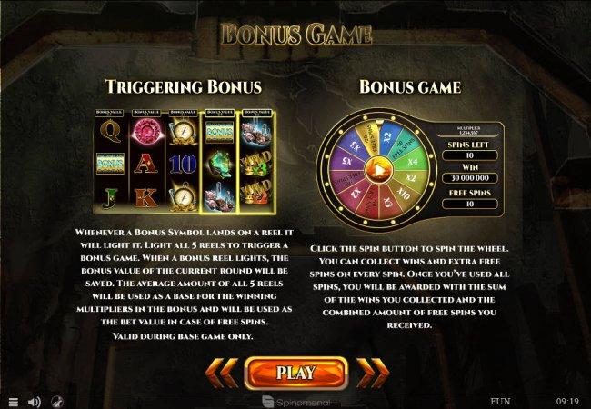 Bonus Game Rules by Free Slots 247