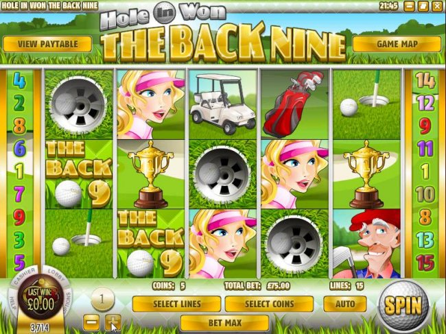 The Back Nine by Free Slots 247