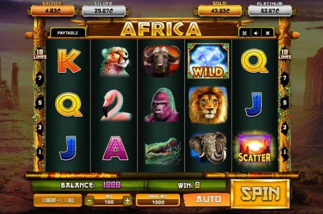 Africa screenshot