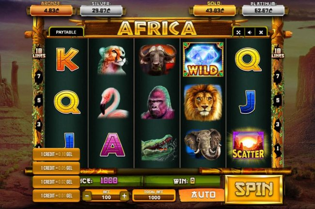 Free Slots 247 image of Africa