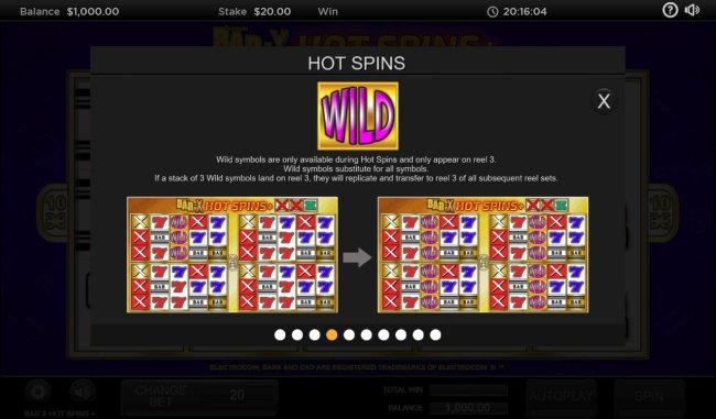 Free Slots 247 image of Bar X Hot Spins +