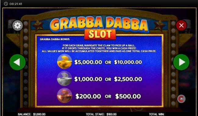 Grabba Dabba Slot screenshot