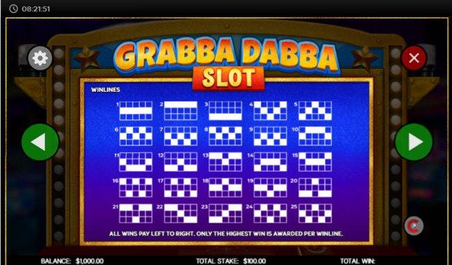 Free Slots 247 - Paylines 1-25