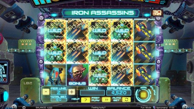 Free Slots 247 image of Iron Assassins