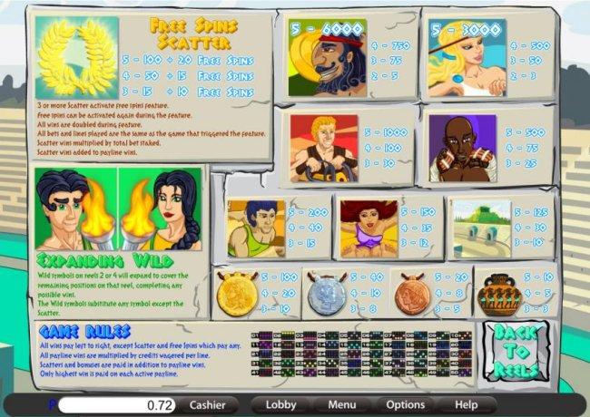 Legends of Olympia screenshot