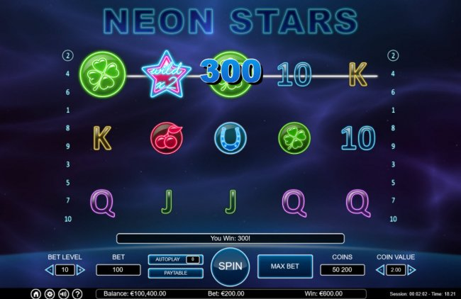 Images of Neon Stars