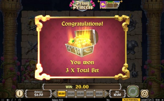 Treasure feature awards a 3x multiplier. by Free Slots 247