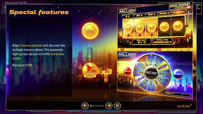 Free Slots 247 - Special Features