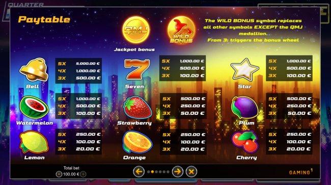 Quarter Million Slot screenshot