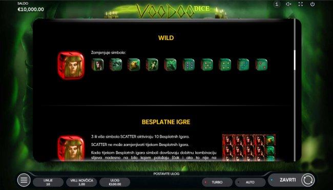 Free Slots 247 image of Voodoo Dice