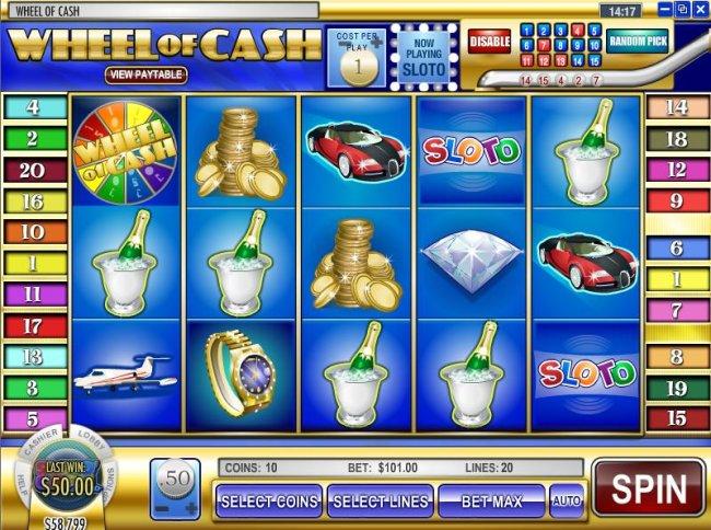 Wheel of Cash screenshot