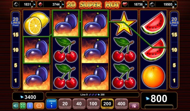20 Super Hot by Free Slots 247