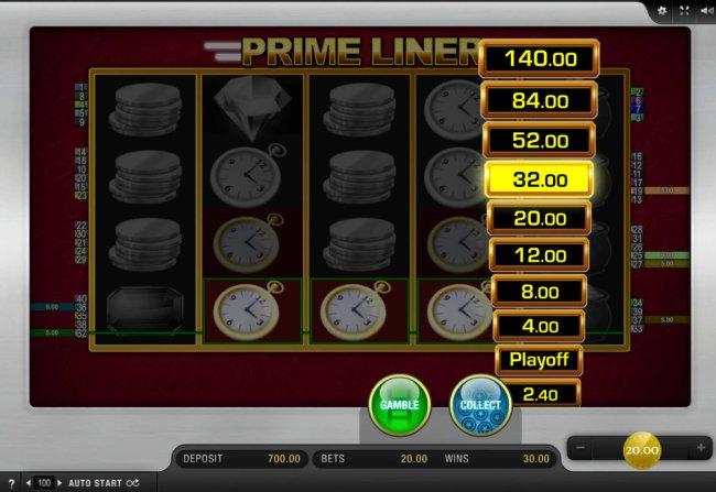 Prime Liner by Free Slots 247
