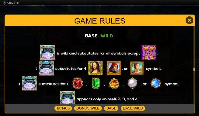 Quadruple Da Vinci Diamonds screenshot