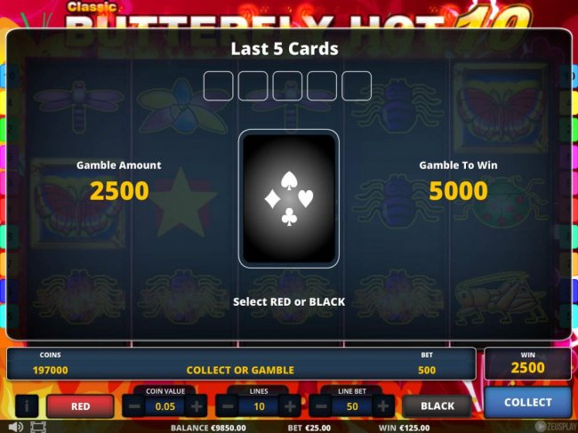 Classic Butterfly Hot 10 by Free Slots 247