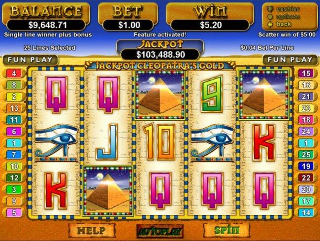 Jackpot Cleopatra's Gold by Free Slots 247