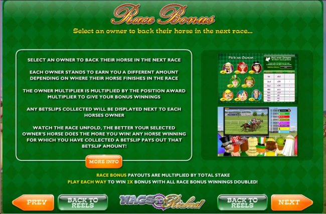 Free Slots 247 image of Nags to Riches