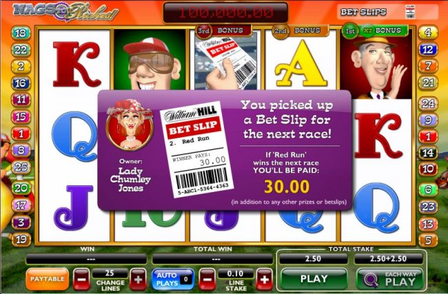 Free Slots 247 - you picked up a bet slip for the next race