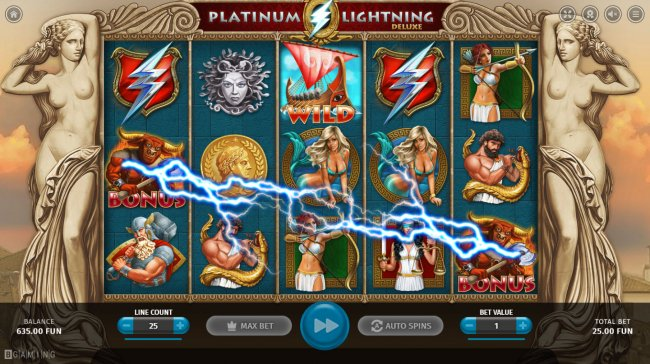 Platinum Lightning Deluxe by Free Slots 247