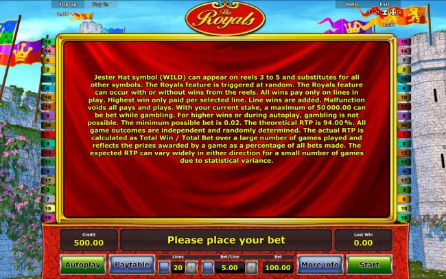 Free Slots 247 image of The Royals