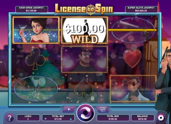 Walking Wild feature triggers a 100.00 payout. - Free Slots 247