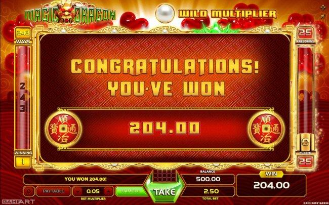 Magic Dragon by Free Slots 247