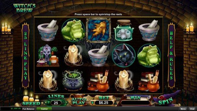 Witch's Brew by Free Slots 247